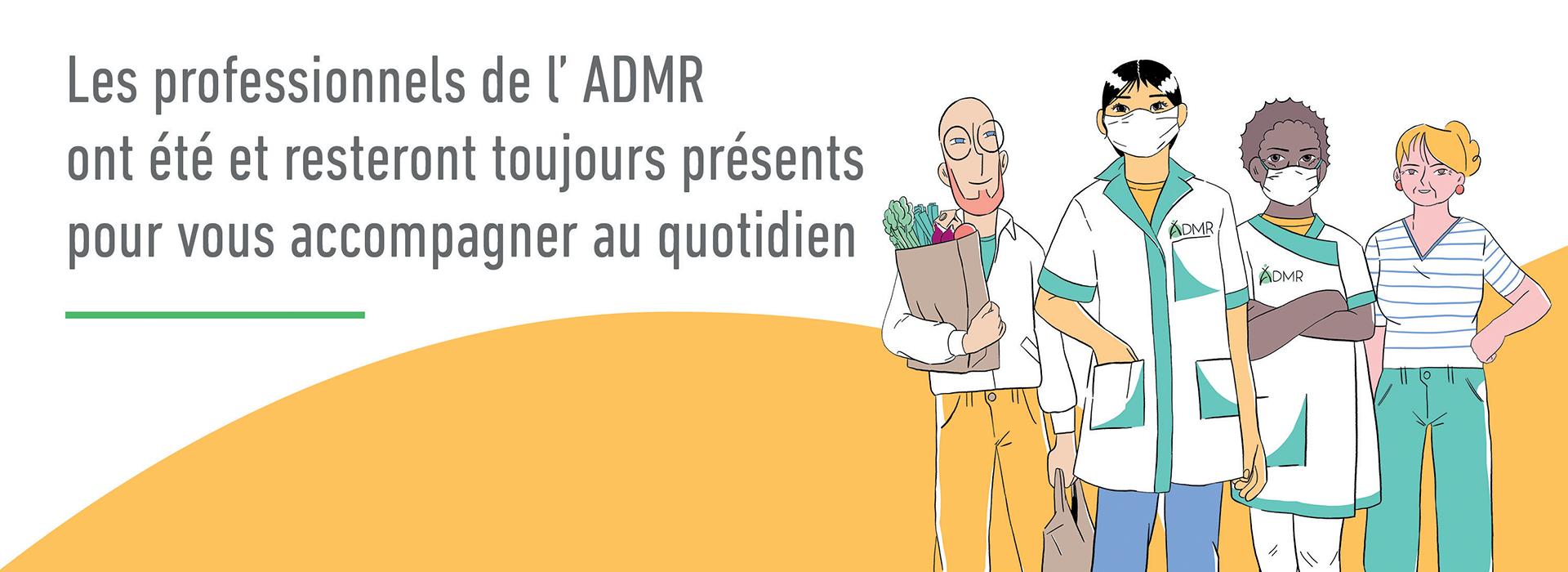 L'ADMR pour tous, toute la vie, partout !